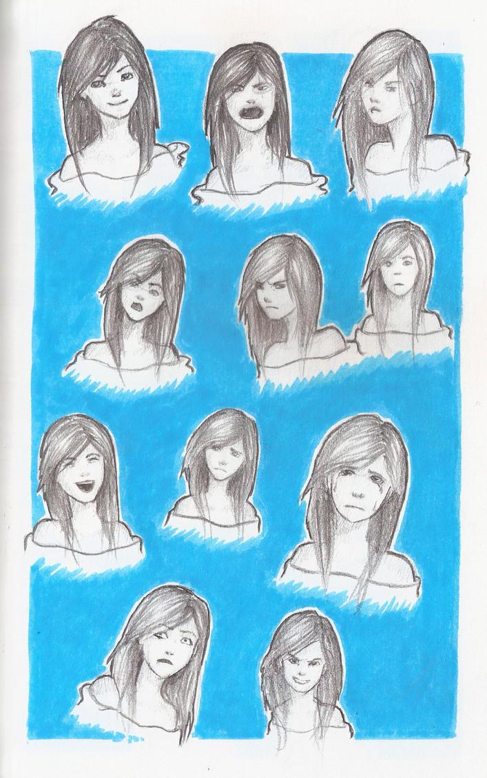 Facial Expression Study 19