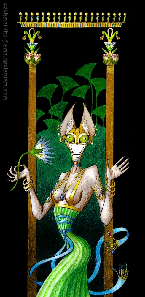 Bastet by sekhmet-the-flame