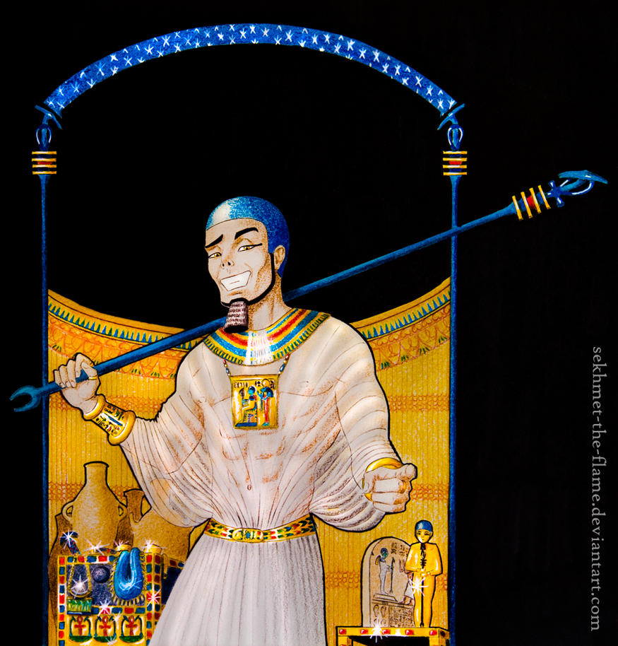 ptah  the perfect of face by sekhmet