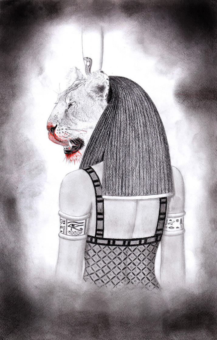 Sekhmet, She Who Eats Blood by sekhmet-the-flame