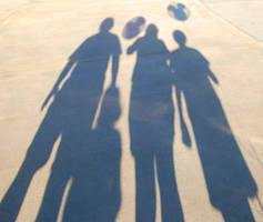 Shadows Having Fun