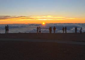 Haleakala Sunset by MogieG123