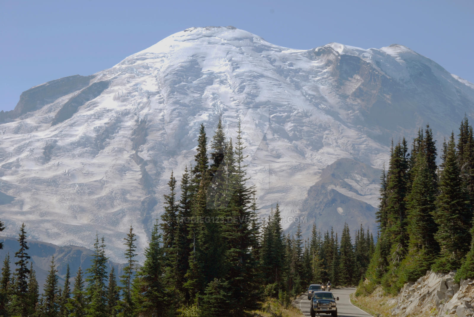 The Road to Rainier by MogieG123