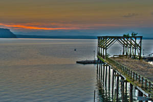 Old Dock Before Dawn