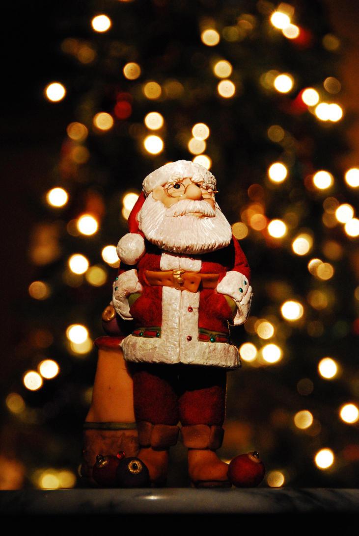 Bokeh Santa by MogieG123