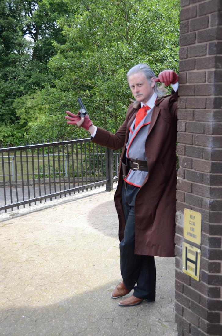 Revolver ocelot cosplay - photo#5