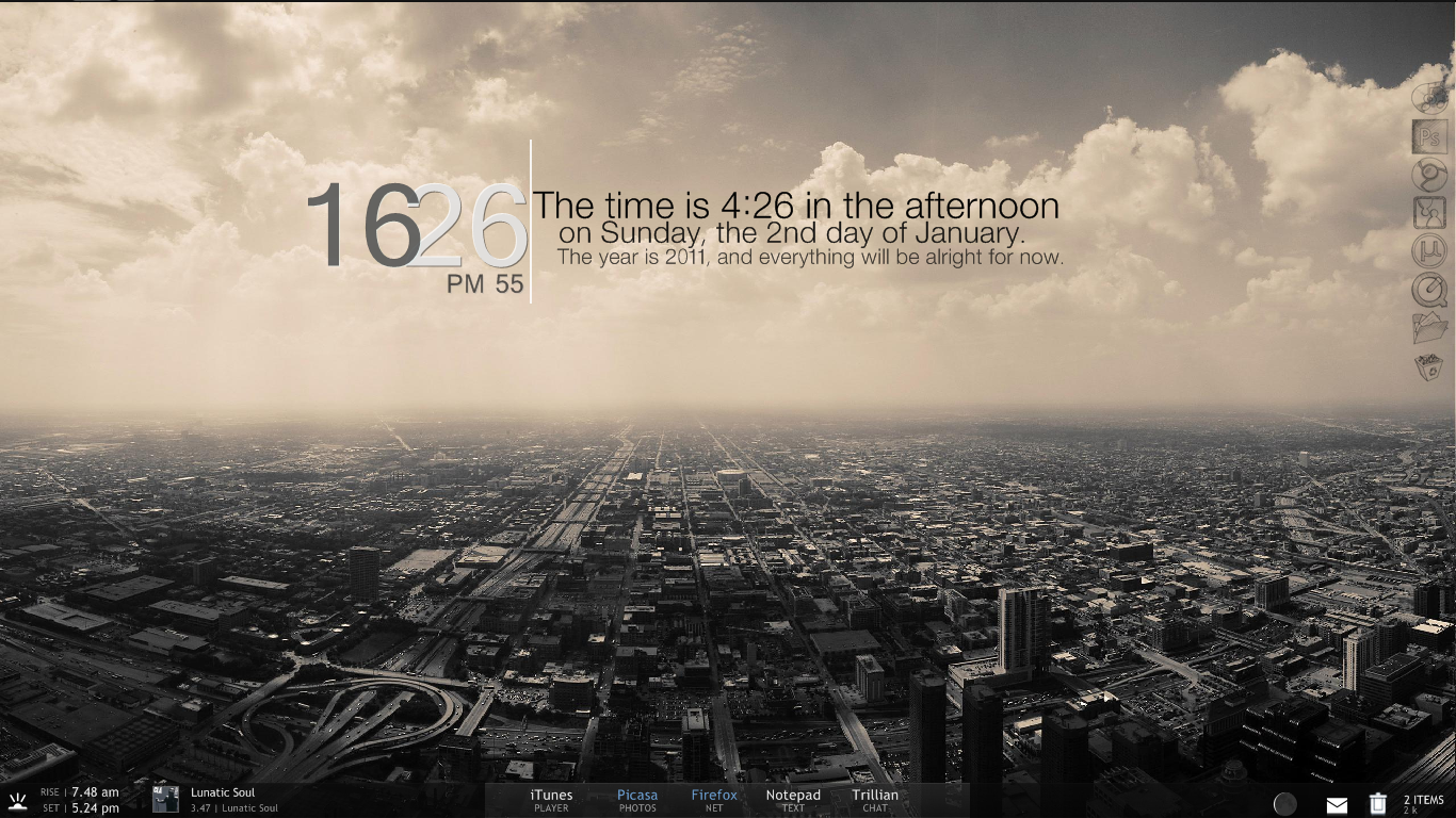 Desktop January 2011 by PatriciaG