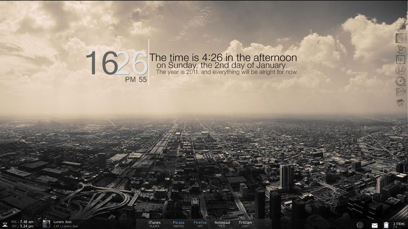 Desktop January 2011 by PatriciaG