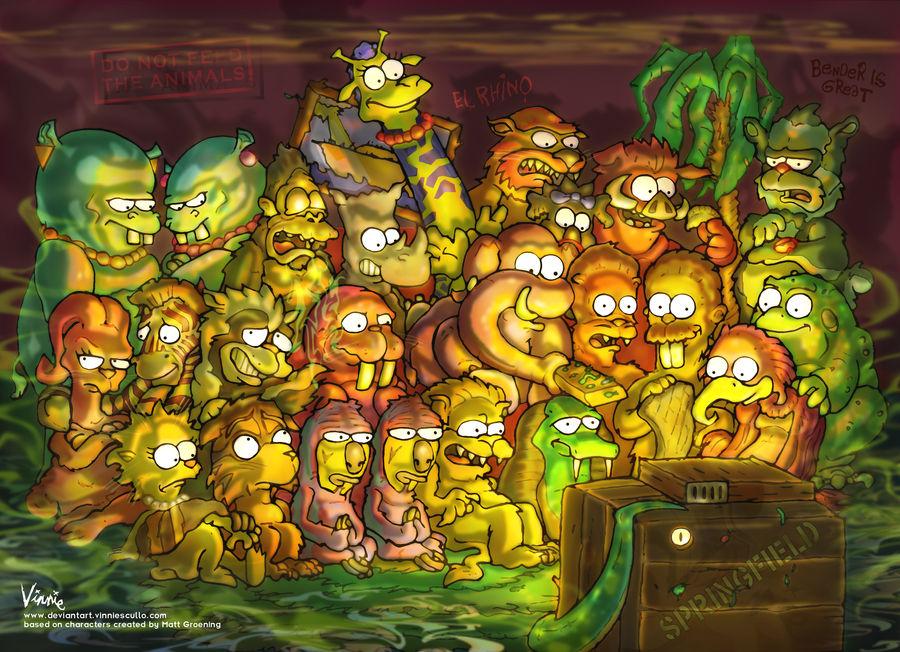 Simpsons ZOO
