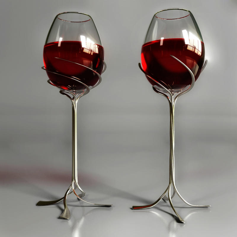 Wineglass design by hankins on deviantart - Unusual champagne flutes ...