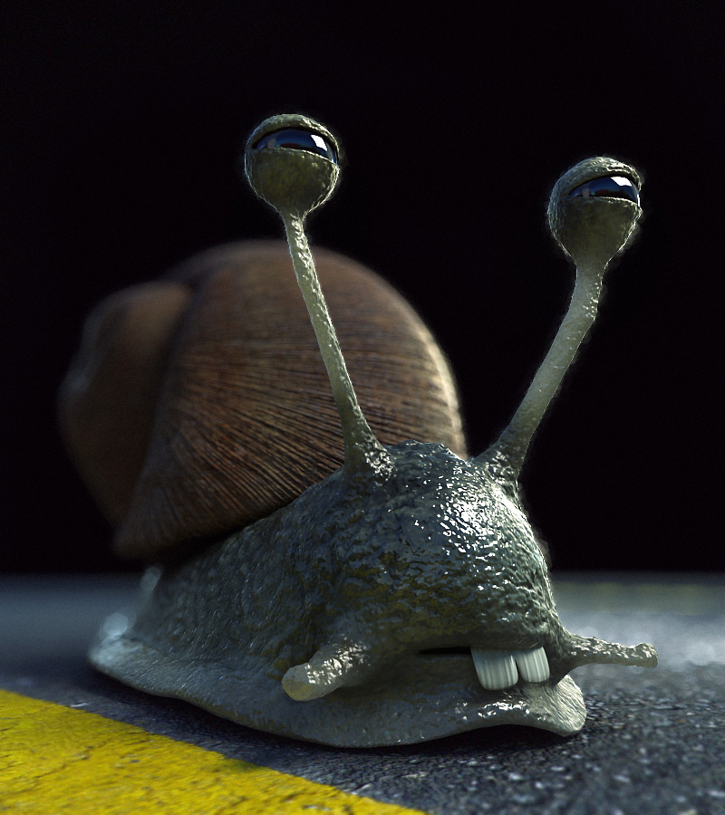SnailTwo by Hankins
