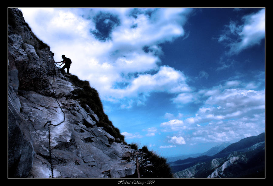 Coldness Of The Climb by Hubzay on DeviantArt