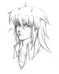 Headshot of Yami Bakura