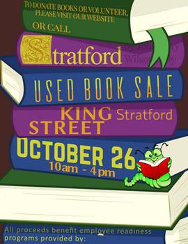 Book Sale Poster - Stackbooks