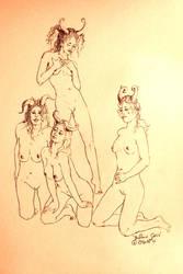 ''Buffalo Girls' by Eyesofgasoline