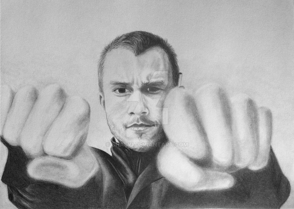 Heath  Ledger by Shalvi