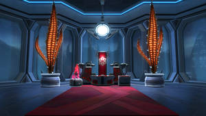 Sith Lightsabre Forge Room