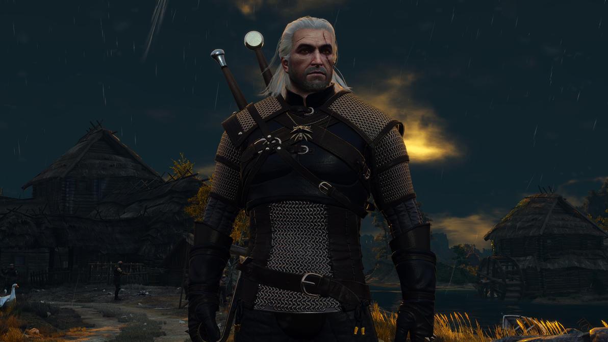 Geralt of Rivia by UnitedStrafes
