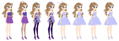 LoliRock Star chase's Outfits