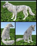CoyoteMange Fur Texture