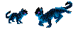 BlueFall Mini Pixels Commish by FlyWheel68