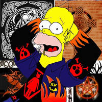 GOTHIC HOMER FINALE by rockstar-kat666