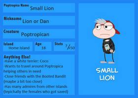 Small Lion ref sheet by ChibiNeko-Lover