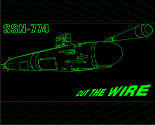 SSN-774 CUT THE WIRE by Dayanx