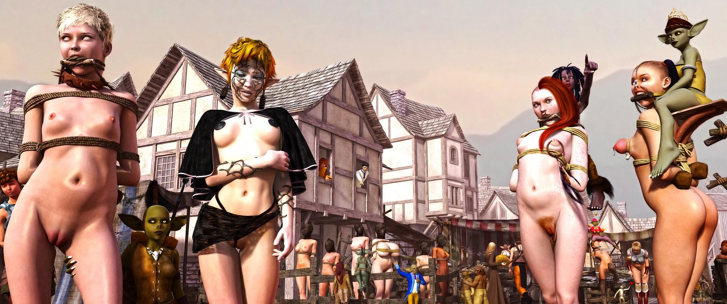 Goblin trade andelven slave porn porn videos