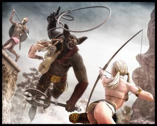 Adventurers of Gor by IronHawk-R