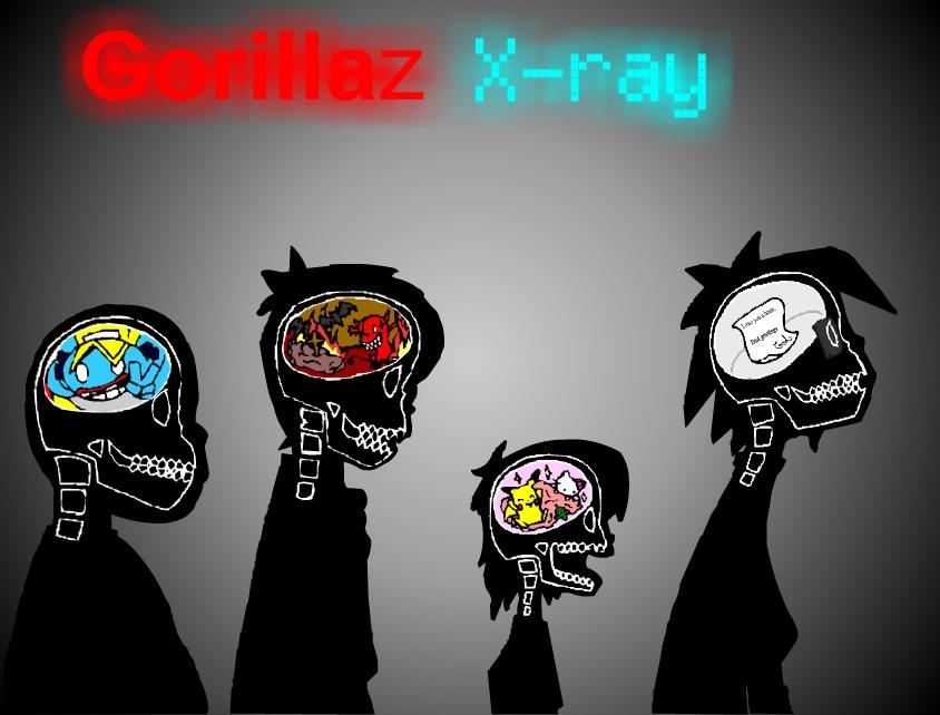 Gorillaz X Ray By S0s2