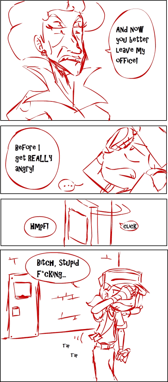 TF2 comic: TEAM RED page 3 by s0s2