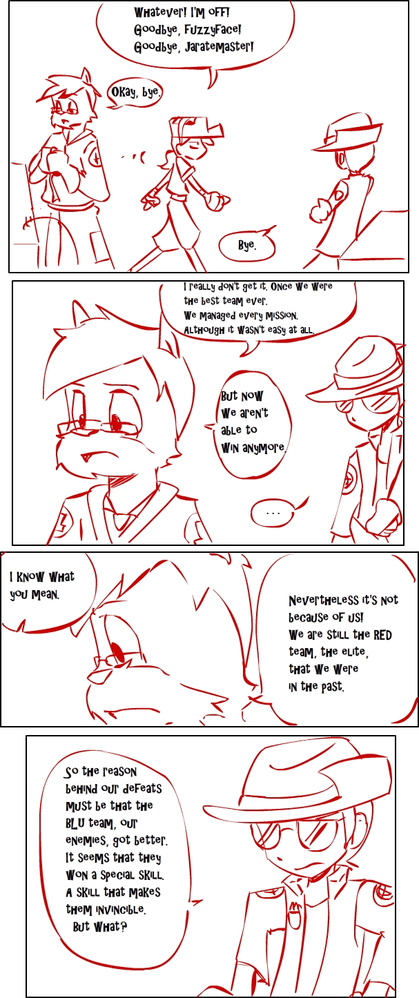TF2 comic: TEAM RED page 10 by s0s2