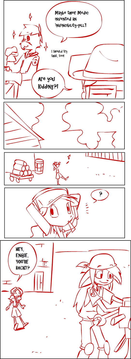 TF2 comic: TEAM RED page 11 by s0s2