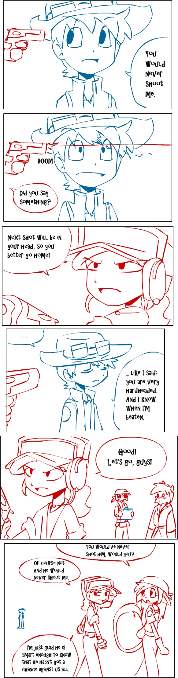 TF2 comic: TEAM RED page 30 by s0s2