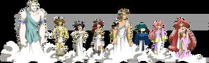 Lavi- The Greek Gods