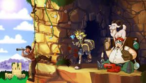 Collab: Treasure Hunters
