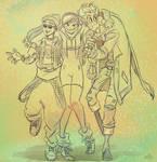 Overwatch three buddies