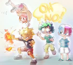 Boku No Kiddos by s0s2