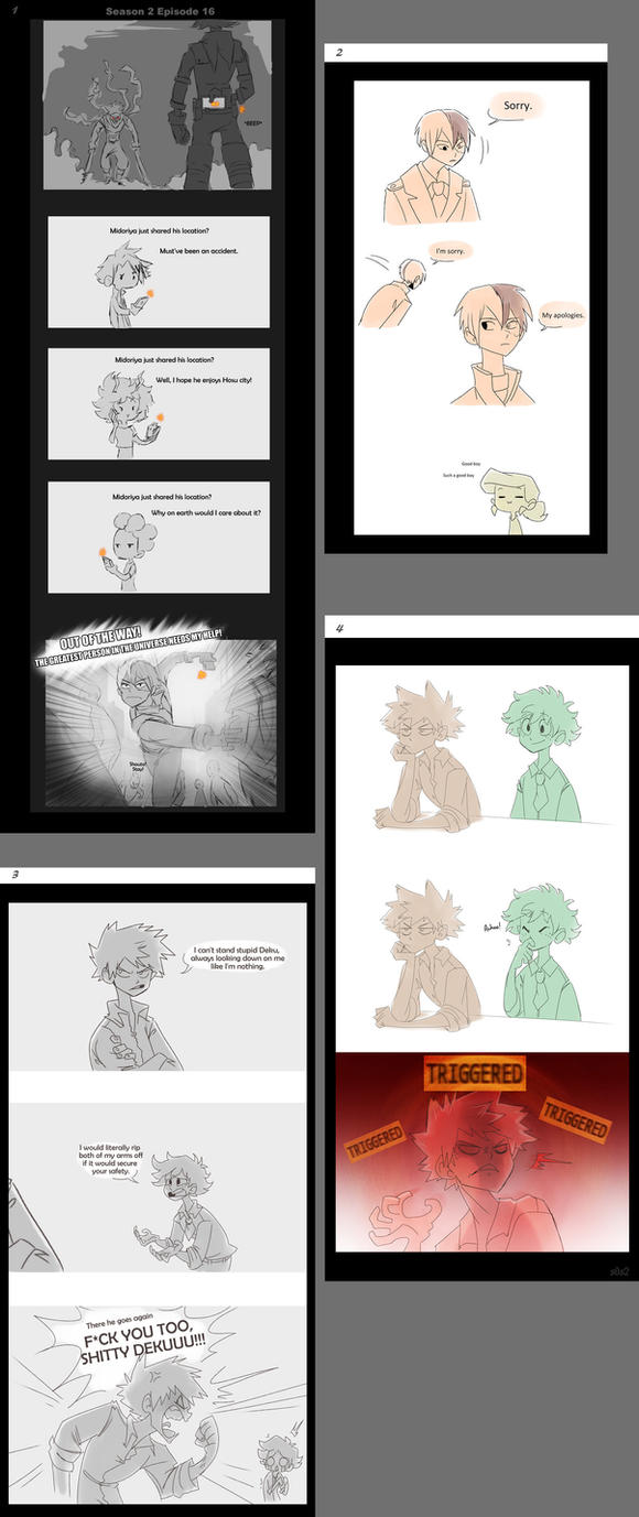 Boku No Hero Doodles 3 By S0s2