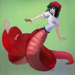 Commission Snake Jade