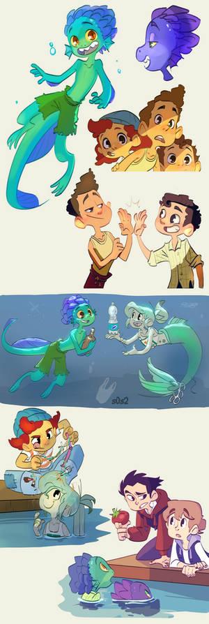 Disney Pixar's Luca
