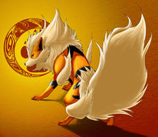 Arcanine by Timber-Wolf-Spirit