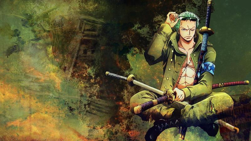 One Piece Wallpaper Set Roronoa Zoro By MondeM