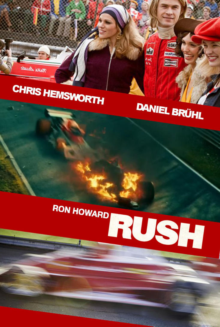 Rush fan made movie poster by Miamsolo on DeviantArt
