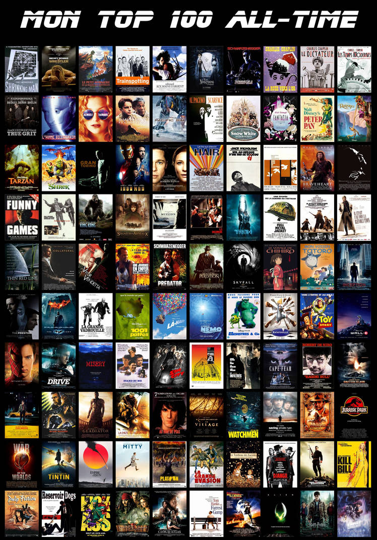 100 Top Model Search: My Top 100 Movies Of All Time By Miamsolo On DeviantArt