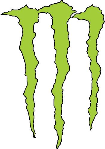 monster logo by fluffythebluewolf on deviantart
