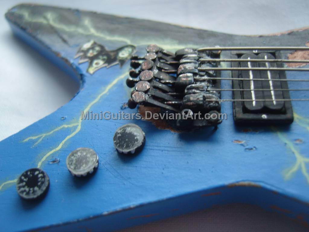 dime dean from hell guitar 4 by miniguitars on deviantart. Black Bedroom Furniture Sets. Home Design Ideas