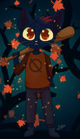 Night in the Woods (speedpaint)