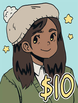 $10 Bust Commissions! [OPEN - 2 slots!]